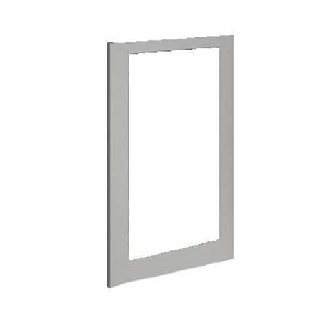 Stainless Handleless Panel 15 In Frame - Euro Style