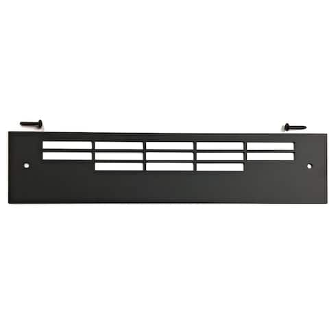 Adjustable Black Grille 18 In 3 and 5 Class