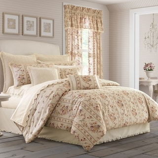 The Gray Barn Molly Orchard Linen Cotton Floral Comforter Set
