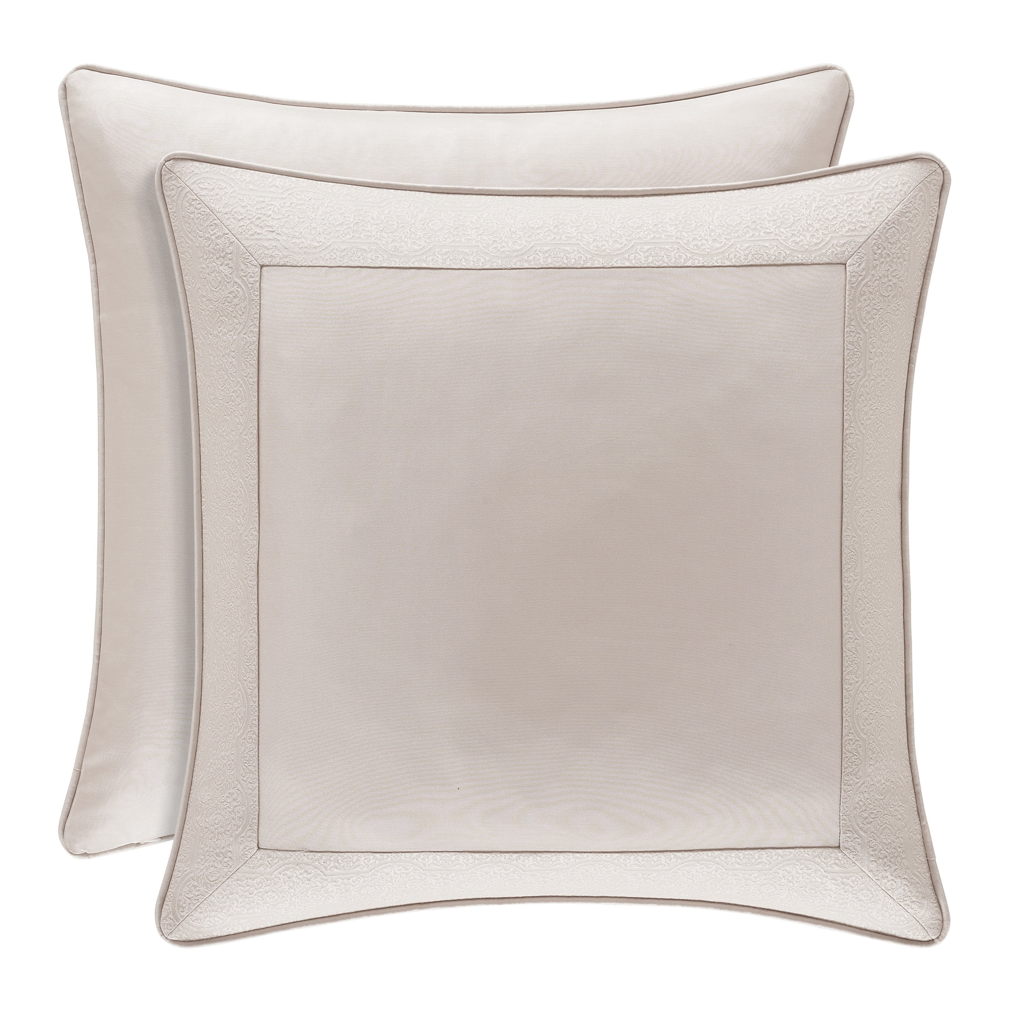 Gracewood Hollow Malinda Square Blush Euro Sham Overstock 28869710