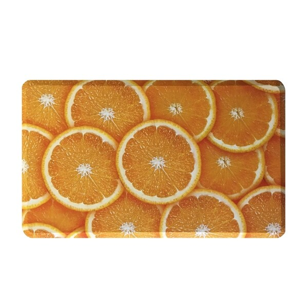 Liberty Mats Oranges Premium Anti Fatigue Floor Mat 18 x 30-inch - 18x30