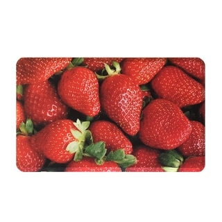 Liberty Mats Strawberries Premium Anti Fatigue Floor Mat 18 x 30-inch - 18x30