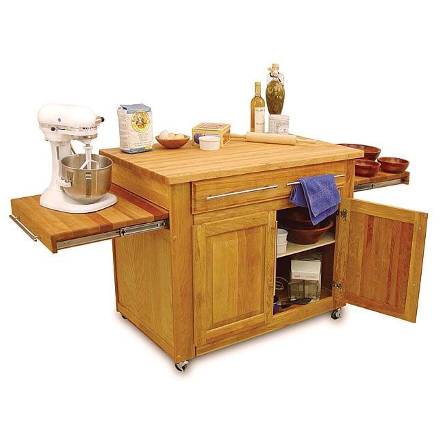 Catskill Craftsmen Empire Island Kitchen Cart Free