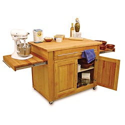 Catskill Craftsmen Empire Island Kitchen Cart
