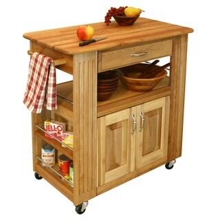 Catskill Craftmen Heart-of-the-Kitchen Island Cart