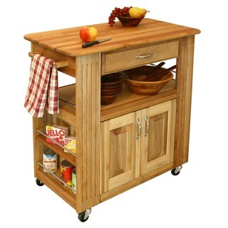 Catskill Craftmen Heart-of-the-Kitchen Island Cart
