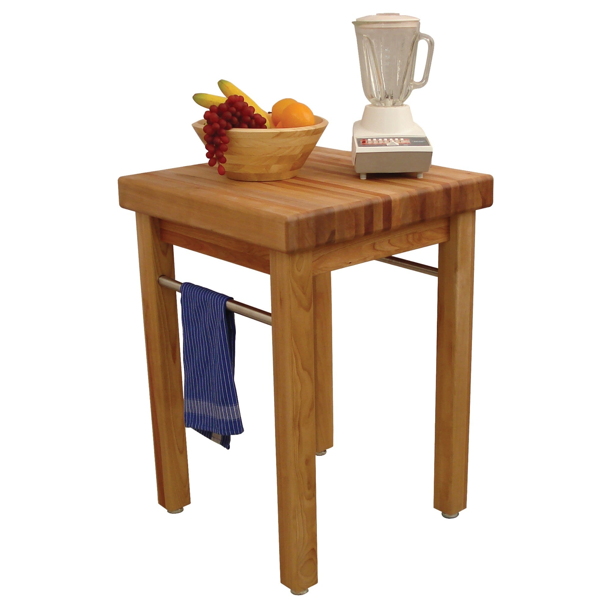 """Catskill Craftsman Butcher Block Kitchen Prep Table: French Country, 24"""" - 1925"""