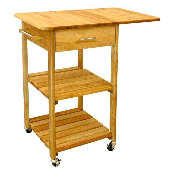 Butcher Block Cart Birch 20 75 W X