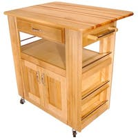 Heart-of-the-Kitchen Island with Drop Leaf