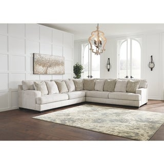 Rawcliffe 3-Piece Modern Sectional - Parchment