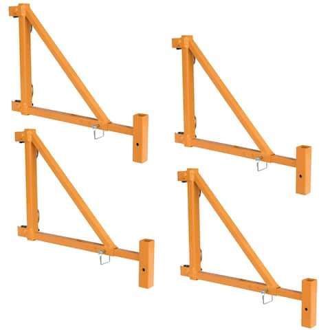 2 in 1 Adjustable Outrigger 4 Piece Set, Adjusts 18 to 34 inches