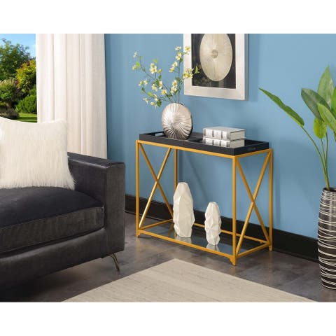 Silver Orchid St. Ambrose Console Table