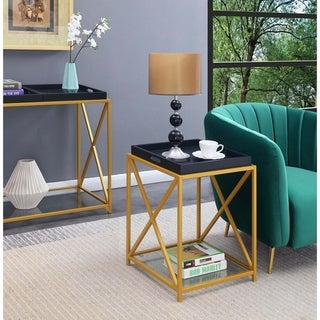 Silver Orchid St. Andrews End Table