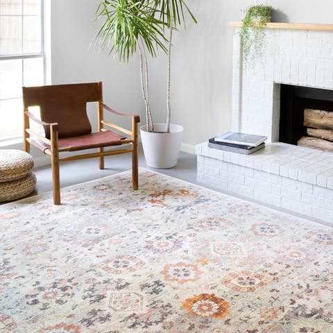 Alexander Home Jennifer Collection Traditional Inspired Area Rug