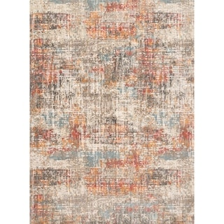 Alexander Home Ana Collection Modern Area Rug