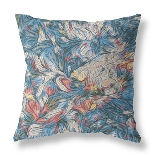 Whirlwind Double Sided Decorative Pillow by Amrita Sen