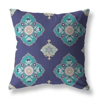 Opal Mirror Tulip Garden Single Sided Decorative Pillow by Amrita Sen