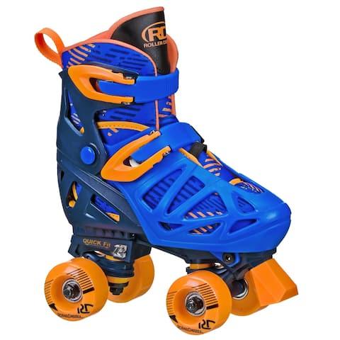 Boys Adjustable Quad Skates by Roller Derby