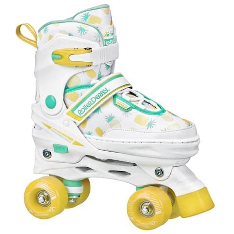 Girls Adjustable High Top Quad Skates by Roller Derby
