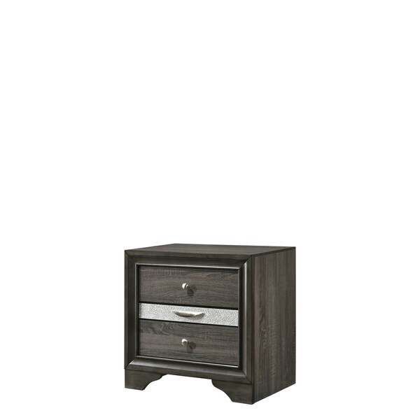 Naima Nightstand - Gray