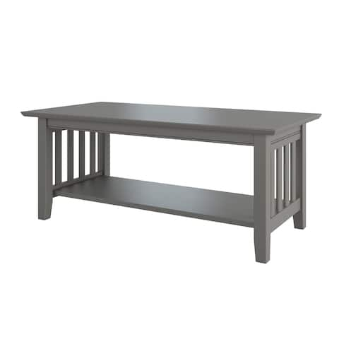 Mission Coffee Table Grey