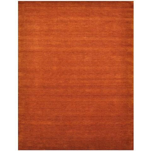 Handmade Gabbeh Wool Rug (India) - 9' x 12'