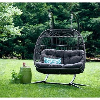 Carova Double Hanging Chair by Avenue 405 - N/A