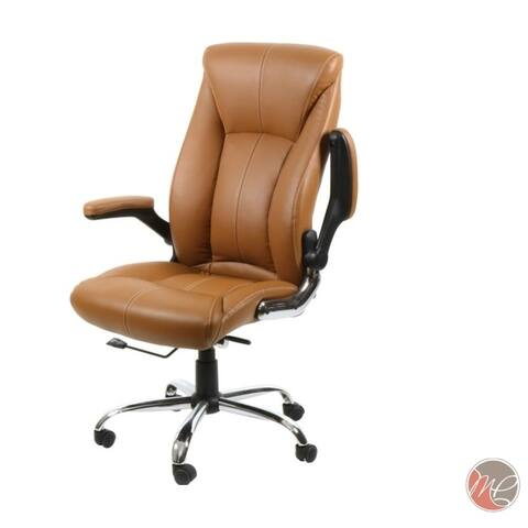 Max Comfort Office Chairs AVION CAPPUCCINO Desk Chairs for Office - N/A