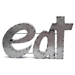 Eat W/ Rebar Sign