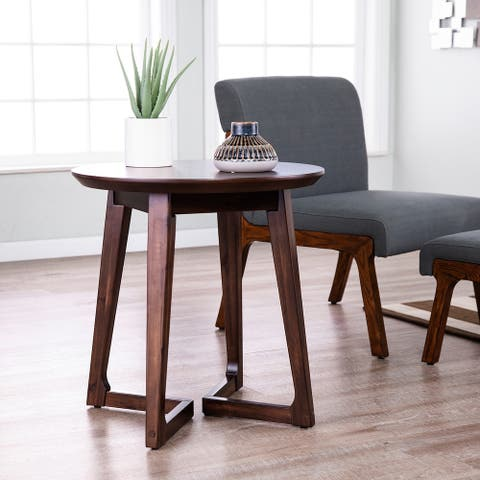Holly & Martin Meckland Midcentury Modern Round End Table