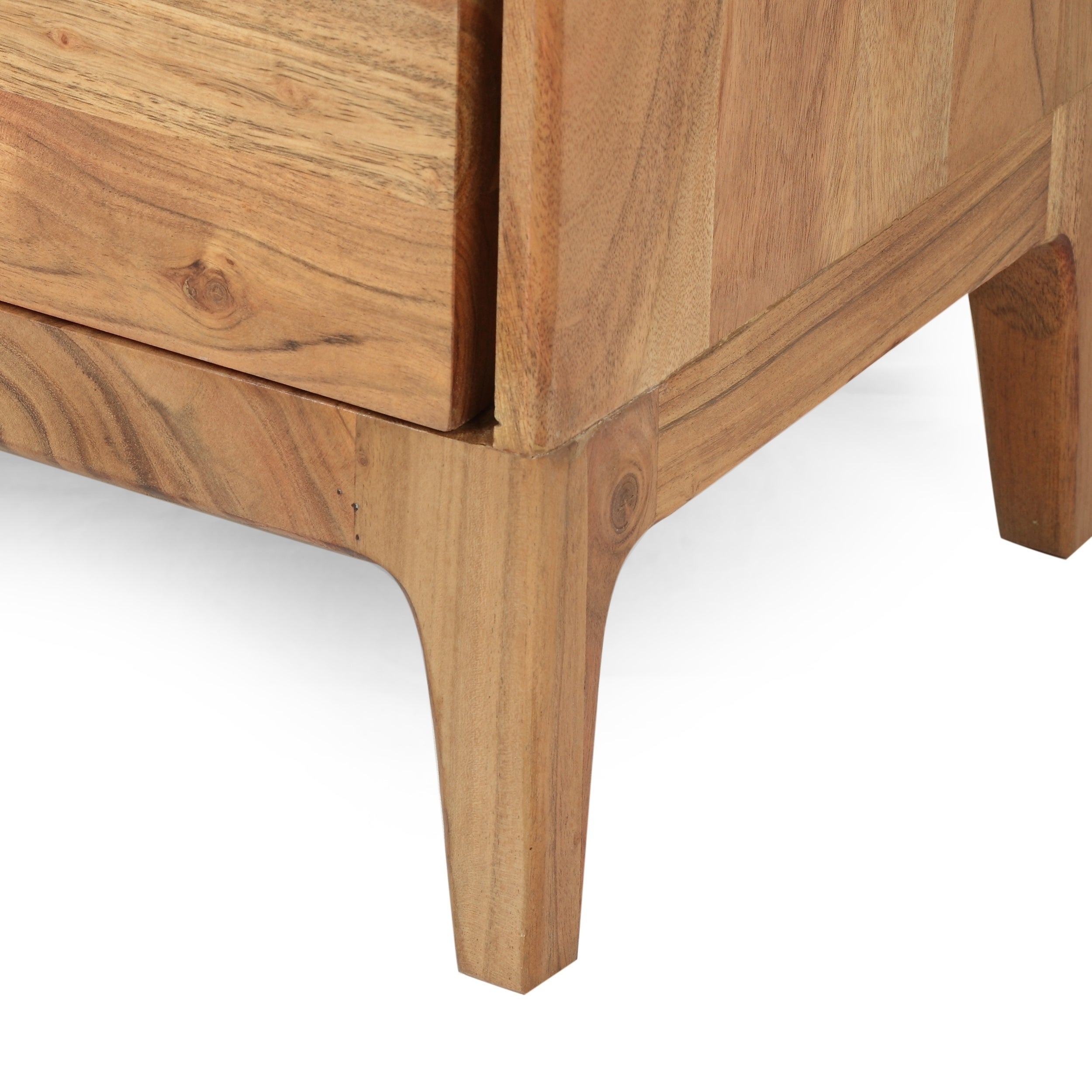 Amwiler Modern Acacia Wood Side Table By Christopher Knight Home On Sale Overstock 28878946