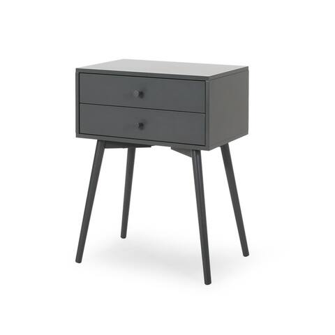 Newcomb Mid-Century Modern Side Table by Christopher Knight Home