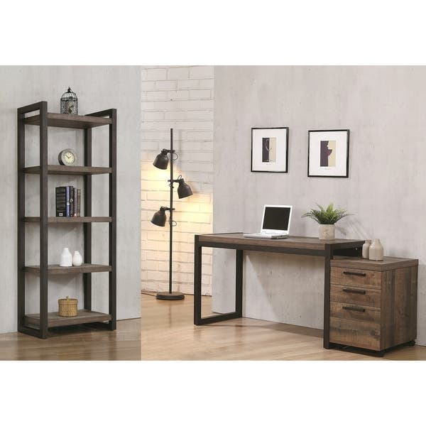 Carbon Loft Carvalho Modern Industrial Design Home Office Collection Overstock 28881587