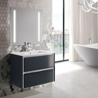 Eviva Luna 32 Dark Grey Bathroom Vanity