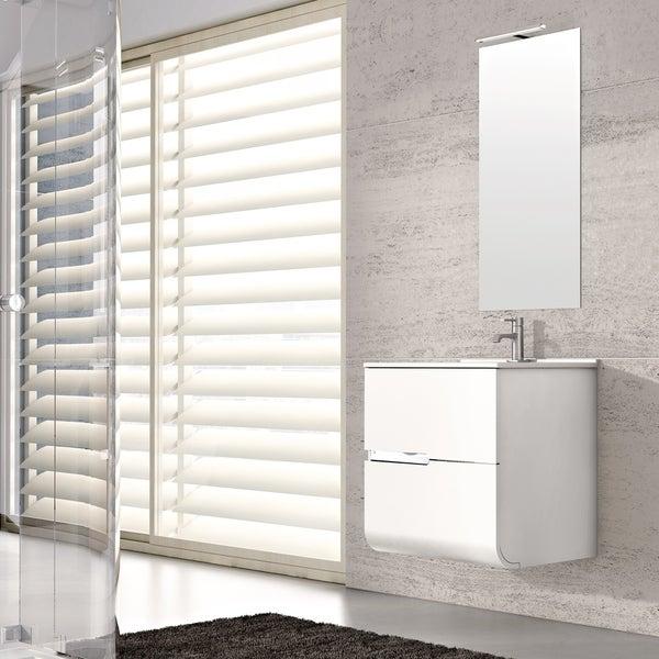 """Eviva Ways 32"""" wall mount bathroom vanity in White"""