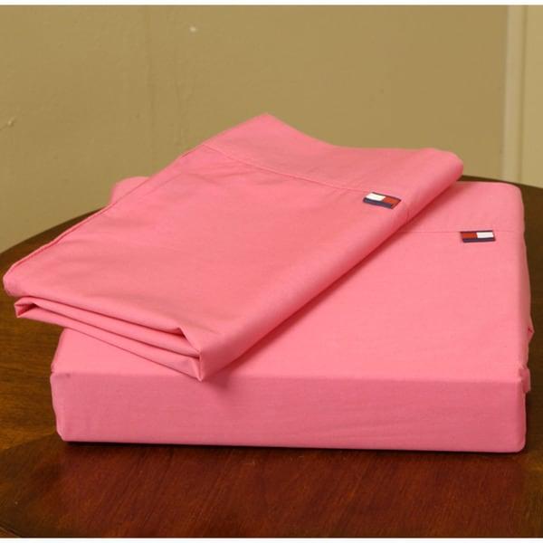 Tommy Hilfiger Pink Sheet Set