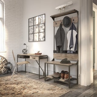 Carbon Loft Entryway Storage Set with Console Table