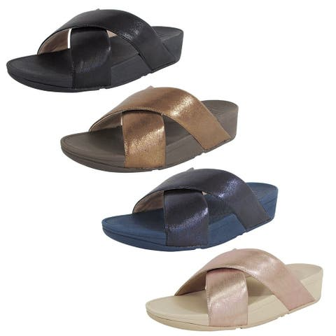 Fitflop Womens Lulu Slide Sandal Shoes
