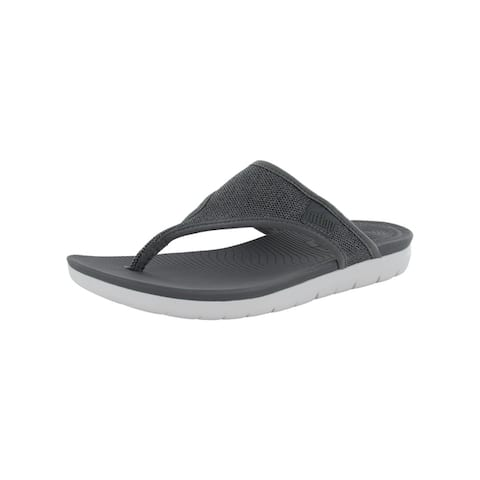 Fitflop Womens Uberknit Toe Thong Sandal Shoes by  Best #1