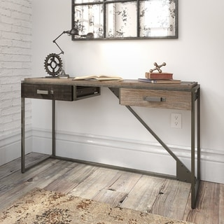 Carbon Loft Refinery Console Table with Drawers