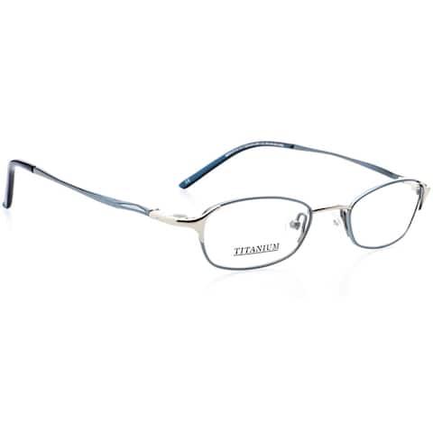 Optical Eyewear - Oval Shape, Titanium Full Rim Frame - Prescription Eyeglasses RX