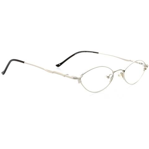 Optical Eyewear - Oval Shape, Metal Full Rim Frame - Prescription Eyeglasses RX
