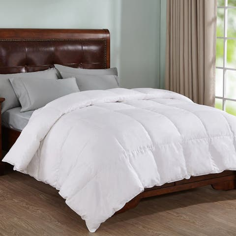 Peace Nest Natural White Down Comforter