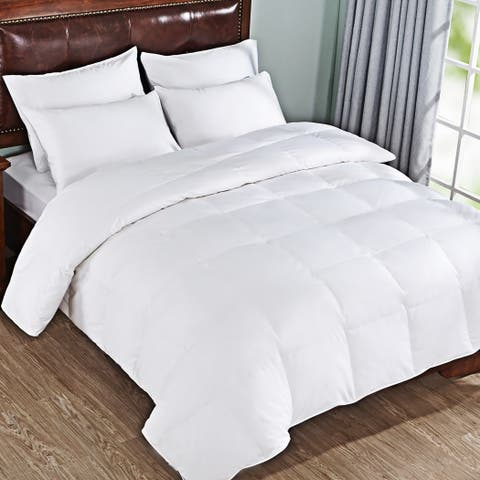 Peace Nest 600 Fill Power White Goose Down Comforter