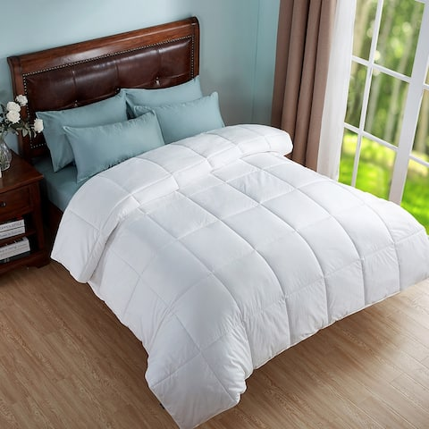 Peace Nest All Season Geometric Woven Down Alternative Comforter