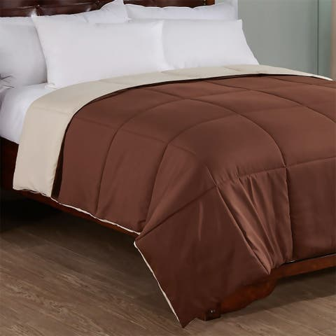 Peace Nest Reversible Lightweight Down Alternative Comforter