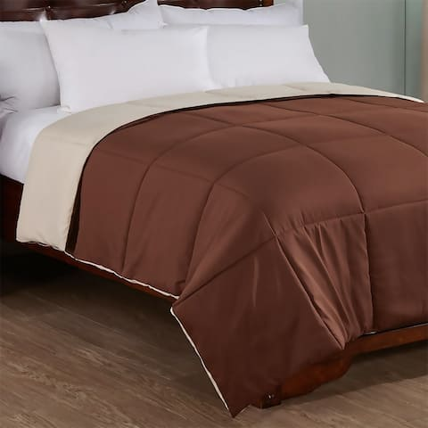Peace Nest Reversible Lightweight Down Alternative Comforter