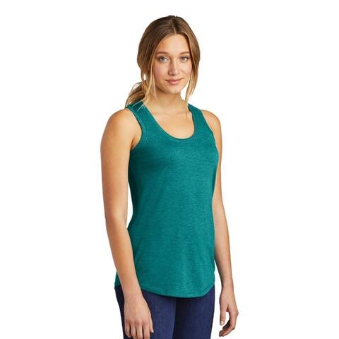 One Country United Women's Tri Racerback Tank Top.