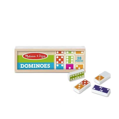 Melissa & Doug Dominoes Tabletop Game