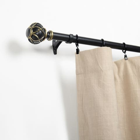 buy 121 to 170 inches curtain rods